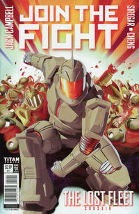 Cover Thumbnail for The Lost Fleet: Corsair (Titan, 2017 series) #1 [Cover D - Neil Roberts]