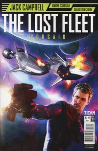 Cover Thumbnail for The Lost Fleet: Corsair (Titan, 2017 series) #3 [Cover A Alex Ronald]