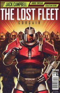 Cover Thumbnail for The Lost Fleet: Corsair (Titan, 2017 series) #4 [Cover C - Neil Roberts]