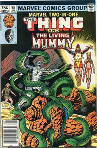 Cover Thumbnail for Marvel Two-in-One (Marvel, 1974 series) #95 [Canadian]