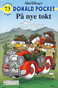 Cover Thumbnail for Donald Pocket (Hjemmet / Egmont, 1968 series) #73 - På nye tokt [4. utgave bc 0239 027]