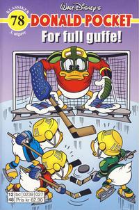 Cover Thumbnail for Donald Pocket (Hjemmet / Egmont, 1968 series) #78 - For full guffe! [3. utgave bc 0239 027]