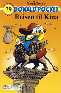 Cover Thumbnail for Donald Pocket (Hjemmet / Egmont, 1968 series) #79 - Reisen til Kina [3. utgave bc 0239 027]