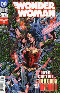 Cover Thumbnail for Wonder Woman (DC, 2016 series) #36 [Bryan Hitch Cover]