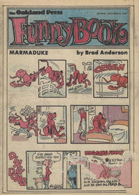 Cover Thumbnail for The Oakland Press Funny Book (The Oakland Press, 1978 series) #October 22, 1978
