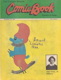Cover Thumbnail for The Calgary Herald Comic Book (Calgary Herald, 1977 series) #v5#6