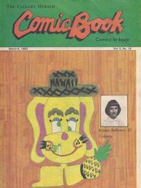 Cover Thumbnail for The Calgary Herald Comic Book (Calgary Herald, 1977 series) #v5#16