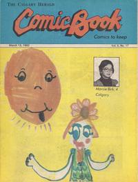 Cover Thumbnail for The Calgary Herald Comic Book (Calgary Herald, 1977 series) #v5#17