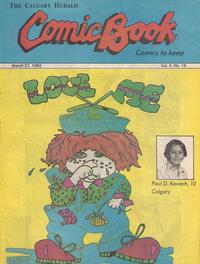 Cover Thumbnail for The Calgary Herald Comic Book (Calgary Herald, 1977 series) #v5#19