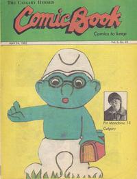 Cover Thumbnail for The Calgary Herald Comic Book (Calgary Herald, 1977 series) #v5#23