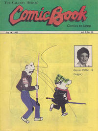 Cover Thumbnail for The Calgary Herald Comic Book (Calgary Herald, 1977 series) #v5#36