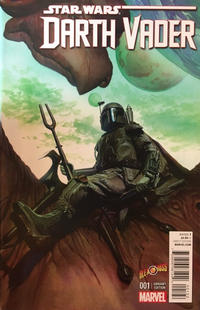 Cover Thumbnail for Darth Vader (Marvel, 2015 series) #1 [Alex Ross' Own Exclusive Variant]