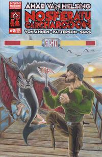 Cover Thumbnail for Ahab Van Helsing vs Nosferatu Carcharodon (Saturday Morning Entertainment, 2016 series) #2