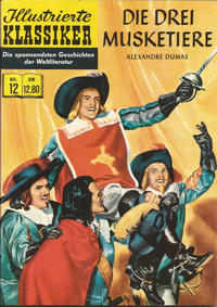 Cover Thumbnail for Illustrierte Klassiker [Classics Illustrated] (Norbert Hethke Verlag, 1991 series) #12 - Die drei Musketiere