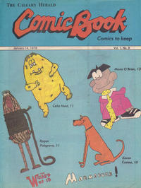 Cover Thumbnail for The Calgary Herald Comic Book (Calgary Herald, 1977 series) #v1#8