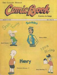 Cover Thumbnail for The Calgary Herald Comic Book (Calgary Herald, 1977 series) #v1#16