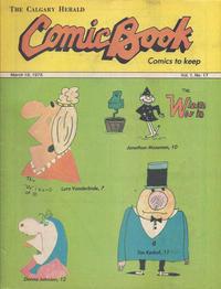 Cover Thumbnail for The Calgary Herald Comic Book (Calgary Herald, 1977 series) #v1#17