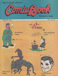 Cover Thumbnail for The Calgary Herald Comic Book (Calgary Herald, 1977 series) #v1#40