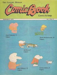 Cover Thumbnail for The Calgary Herald Comic Book (Calgary Herald, 1977 series) #v1#41