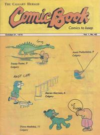 Cover Thumbnail for The Calgary Herald Comic Book (Calgary Herald, 1977 series) #v1#48
