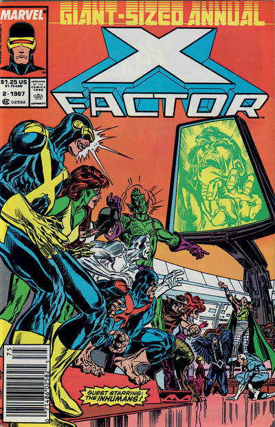 Cover for X-Factor Annual (Marvel, 1986 series) #2 [Direct]