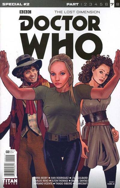 Cover for Doctor Who: Special (Titan, 2017 series) #2 [Cover A]