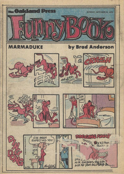 Cover for The Oakland Press Funny Book (The Oakland Press, 1978 series) #October 22, 1978