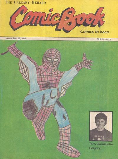 Cover for The Calgary Herald Comic Book (Calgary Herald, 1977 series) #v5#2