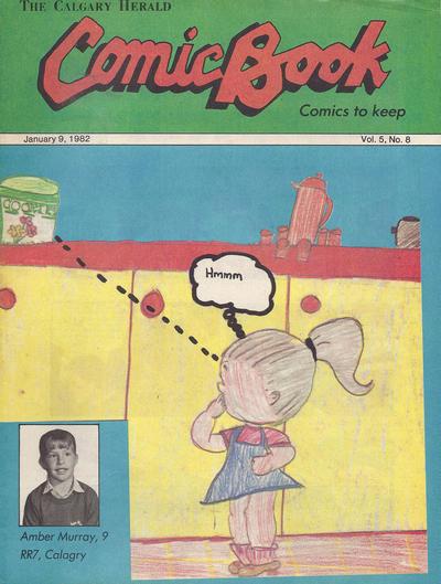 Cover for The Calgary Herald Comic Book (Calgary Herald, 1977 series) #v5#8