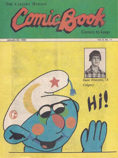 Cover for The Calgary Herald Comic Book (Calgary Herald, 1977 series) #v5#11