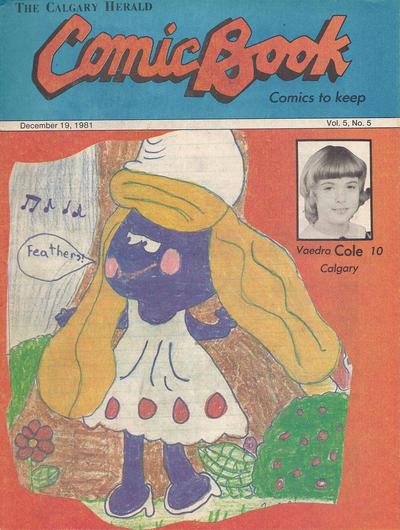 Cover for The Calgary Herald Comic Book (Calgary Herald, 1977 series) #v5#5