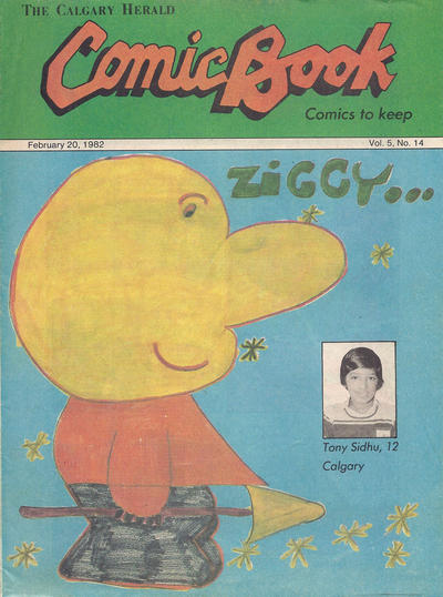 Cover for The Calgary Herald Comic Book (Calgary Herald, 1977 series) #v5#14