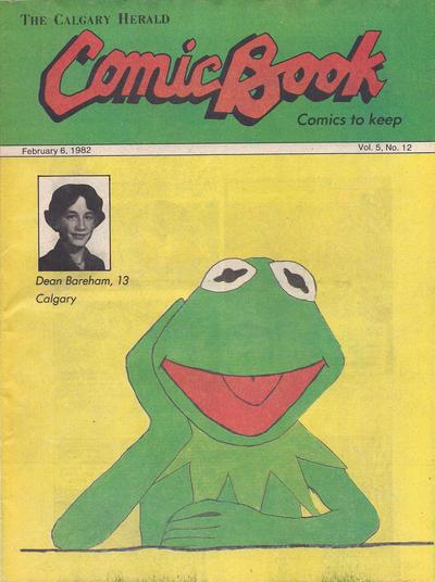 Cover for The Calgary Herald Comic Book (Calgary Herald, 1977 series) #v5#12