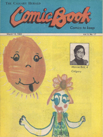 Cover for The Calgary Herald Comic Book (Calgary Herald, 1977 series) #v5#17