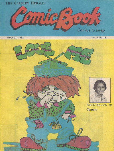 Cover for The Calgary Herald Comic Book (Calgary Herald, 1977 series) #v5#19