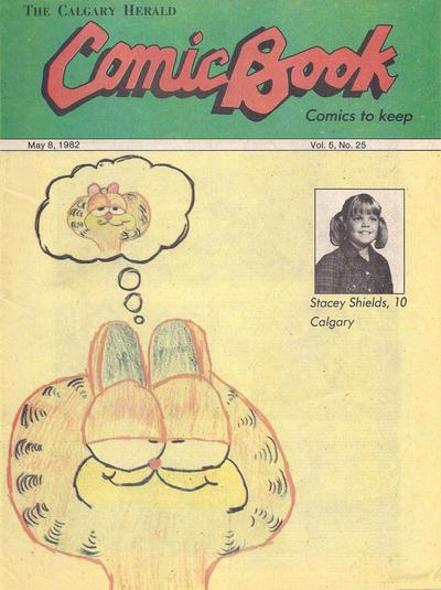Cover for The Calgary Herald Comic Book (Calgary Herald, 1977 series) #v5#25