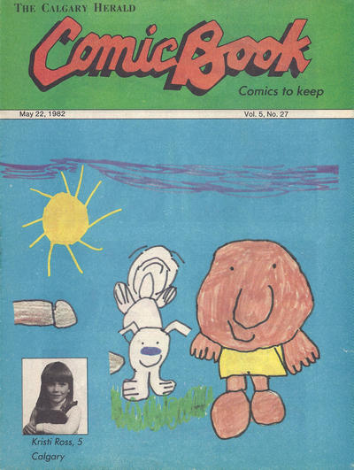 Cover for The Calgary Herald Comic Book (Calgary Herald, 1977 series) #v5#27