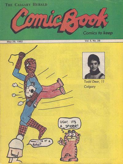 Cover for The Calgary Herald Comic Book (Calgary Herald, 1977 series) #v5#28