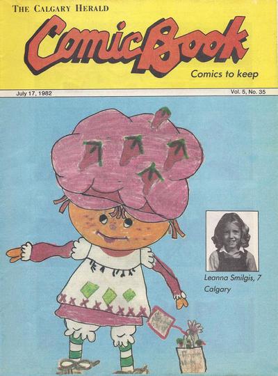 Cover for The Calgary Herald Comic Book (Calgary Herald, 1977 series) #v5#35