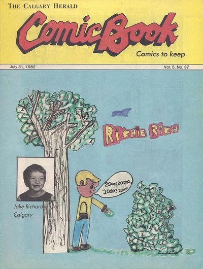Cover for The Calgary Herald Comic Book (Calgary Herald, 1977 series) #v5#37