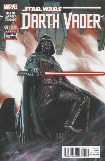 Cover for Darth Vader (Marvel, 2015 series) #1 [Mike Del Mundo Variant]