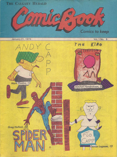 Cover for The Calgary Herald Comic Book (Calgary Herald, 1977 series) #v1#9