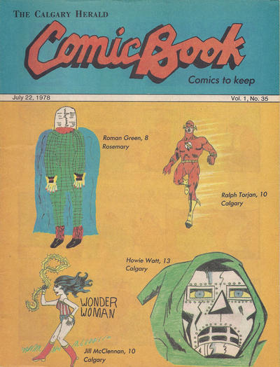 Cover for The Calgary Herald Comic Book (Calgary Herald, 1977 series) #v1#35