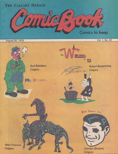 Cover for The Calgary Herald Comic Book (Calgary Herald, 1977 series) #v1#40