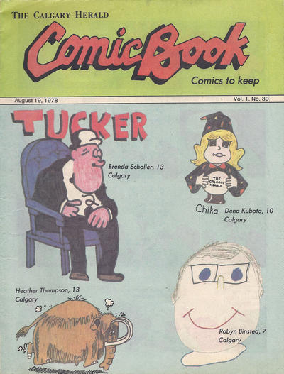 Cover for The Calgary Herald Comic Book (Calgary Herald, 1977 series) #v1#39