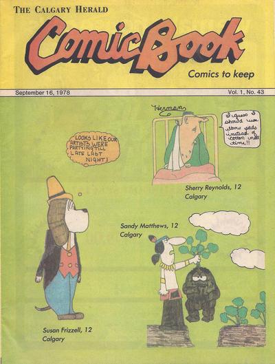 Cover for The Calgary Herald Comic Book (Calgary Herald, 1977 series) #v1#43
