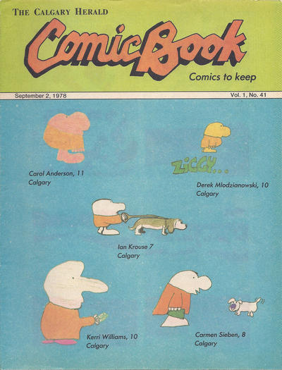 Cover for The Calgary Herald Comic Book (Calgary Herald, 1977 series) #v1#41