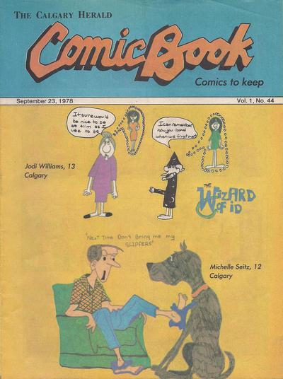 Cover for The Calgary Herald Comic Book (Calgary Herald, 1977 series) #v1#44