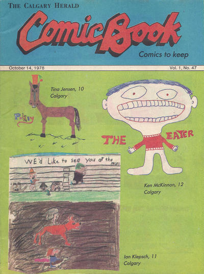 Cover for The Calgary Herald Comic Book (Calgary Herald, 1977 series) #v1#47
