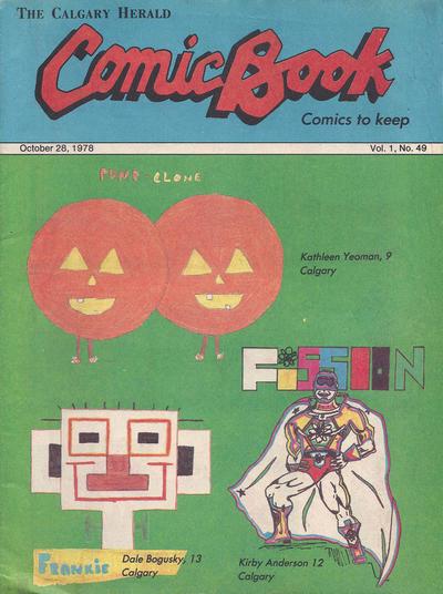 Cover for The Calgary Herald Comic Book (Calgary Herald, 1977 series) #v1#49